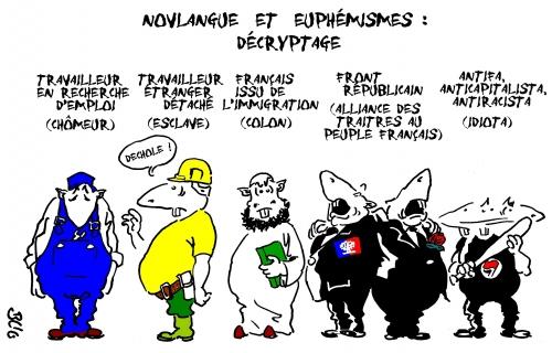 novlangue,euphémismes,antifa