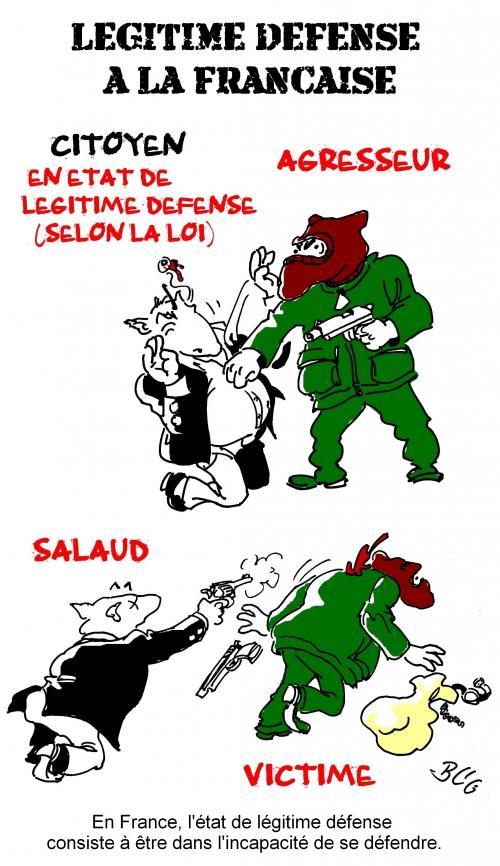 défense,légitime,proportionnelle,galinier,landeux