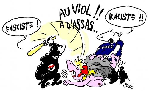raciste,fasciste,compères,viol