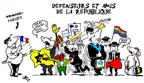 république,défenseurs,licra,crif,racisme